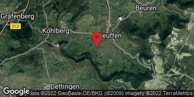 Google Map of Neuffen
