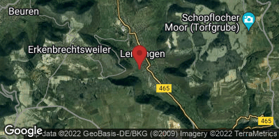 Google Map of Lenningen