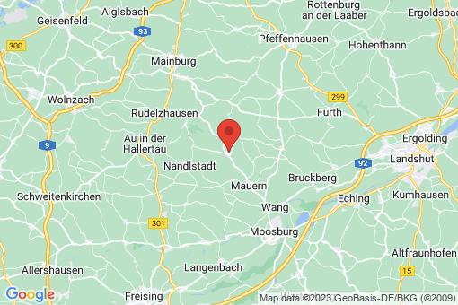 Karte Hörgertshausen