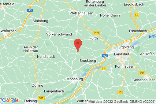 Karte Gammelsdorf