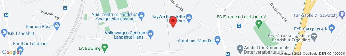 BayWa Baustoffe Landshut Anfahrt
