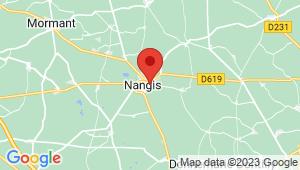 Carte de localisation du centre de contrôle technique NANGIS