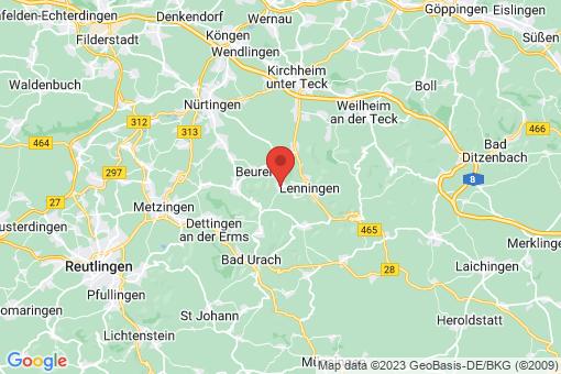 Karte Erkenbrechtsweiler