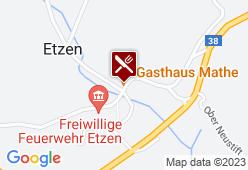 Landgasthaus Mathe - Karte