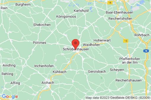 Karte Schrobenhausen