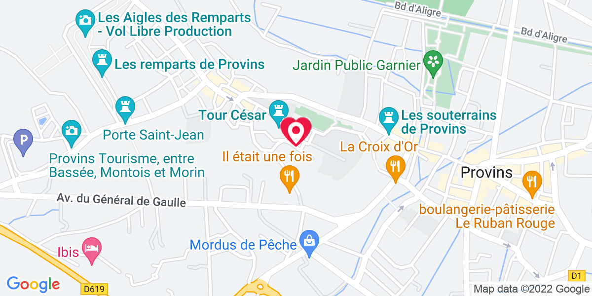 Localisation du projet 'Obsèques de Thierry Blasco à Provins'