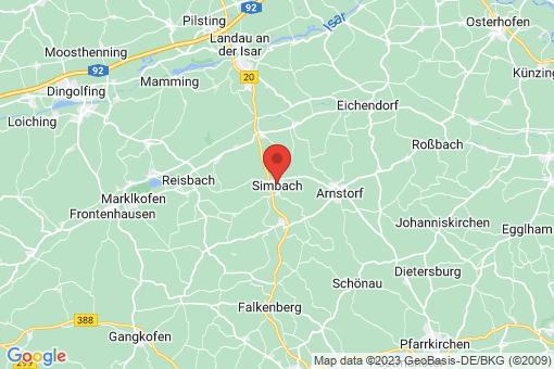 Karte Simbach