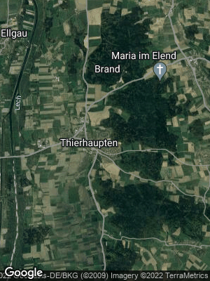 Google Map of Thierhaupten