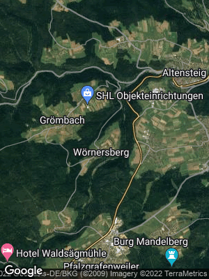 Google Map of Wörnersberg