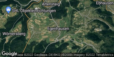 Google Map of Egenhausen