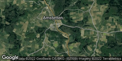 Google Map of Amstetten