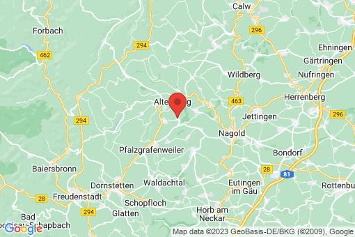 Karte Egenhausen