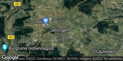 Google Map of Jettingen