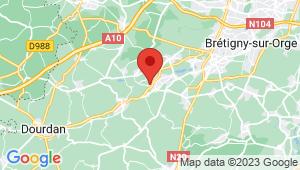 Carte de localisation du centre de contrôle technique BREUILLET