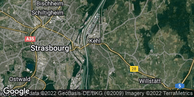 Google Map of Kehl