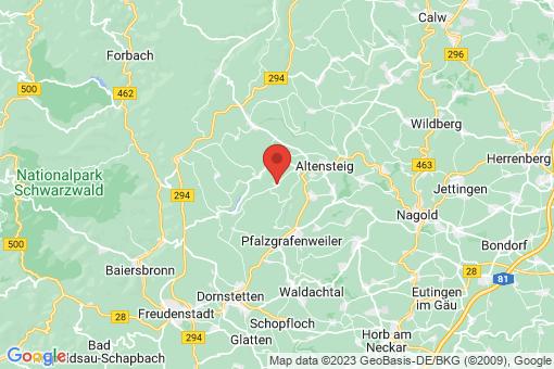 Karte Grömbach