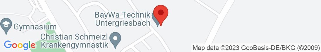 BayWa Technik Untergriesbach Anfahrt