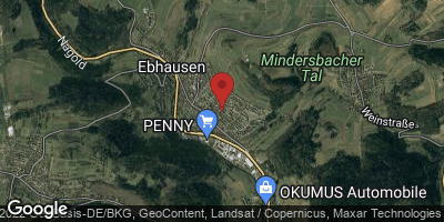 Google Map of Ebhausen