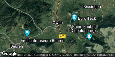 Google Map of Owen