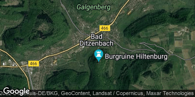 Google Map of Bad Ditzenbach