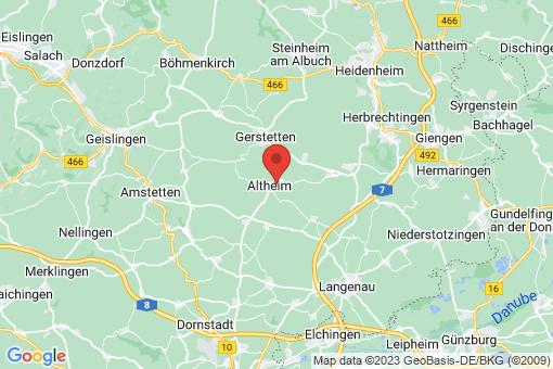Karte Altheim (Alb)