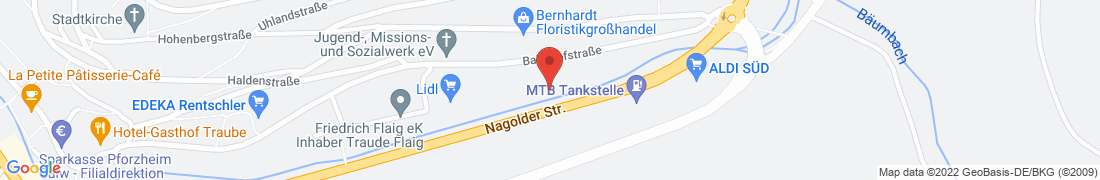 BayWa Technik Altensteig Anfahrt