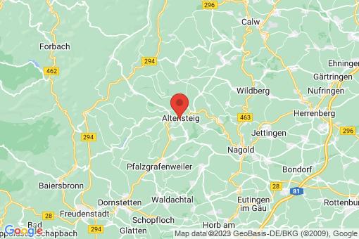Karte Altensteig