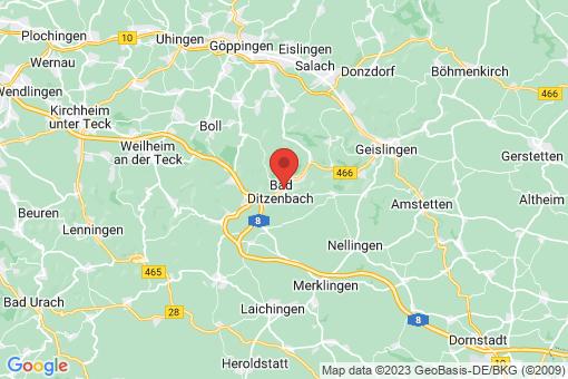 Karte Bad Ditzenbach