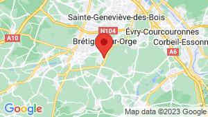 Carte de localisation du centre de contrôle technique BRETIGNY SUR ORGE