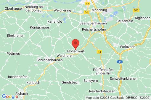 Karte Hohenwart