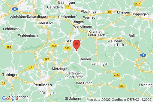 Karte Frickenhausen