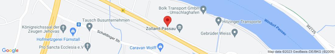 BayWa Agrar Passau-Schalding Anfahrt