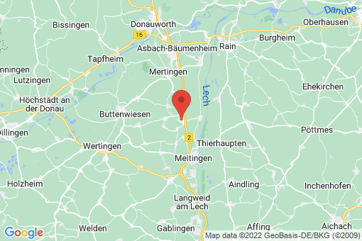 Karte Nordendorf