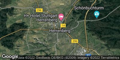 Google Map of Herrenberg