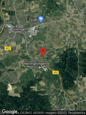 Google Map of Hermaringen