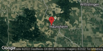 Google Map of Haunsheim