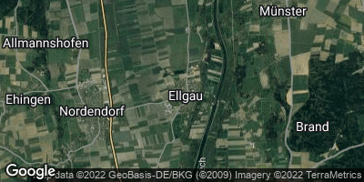 Google Map of Ellgau