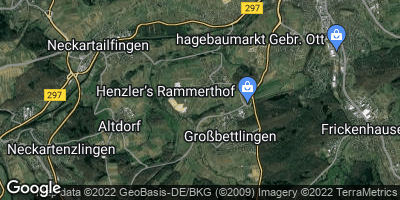 Google Map of Großbettlingen