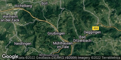 Google Map of Gruibingen
