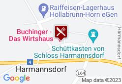 Landgasthof Buchinger - Karte