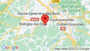 Carte de localisation du centre de contrôle technique LE PLESSIS PATE