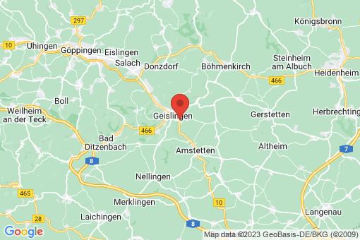 Karte Geislingen an der Steige Türkheim
