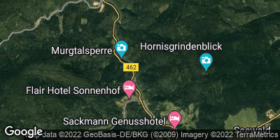 Google Map of Schönmünzach