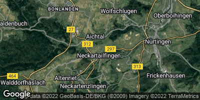 Google Map of Neckartailfingen