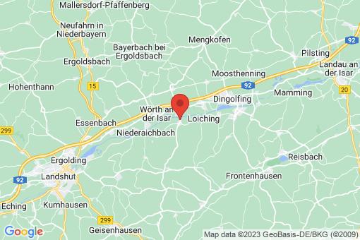 Karte Niederviehbach