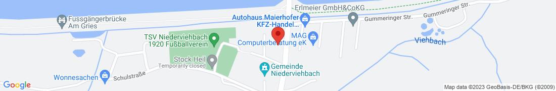 BayWa Technik Niederviehbach Anfahrt
