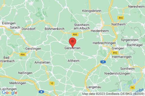 Karte Gerstetten
