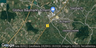 Google Map of Fautenbach