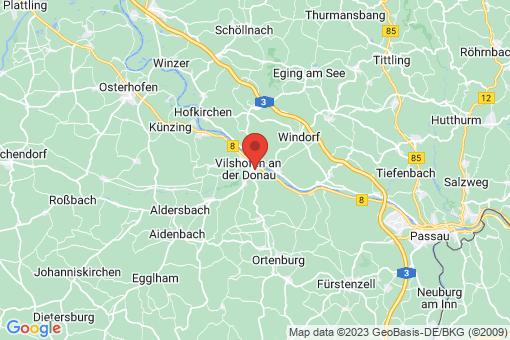 Karte Vilshofen