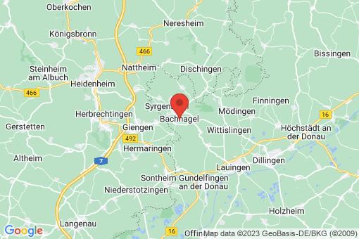 Karte Bachhagel